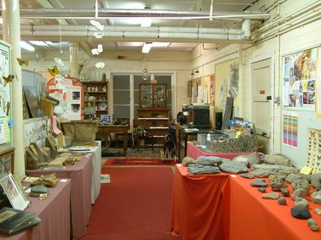 general view of exhibits in the education centre