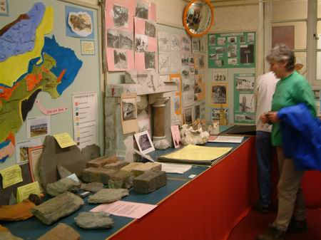 general view of exhibits in education centre